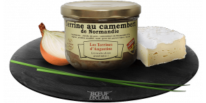 TERRINE AU CAMEMBERT DE NORMANDIE X190G