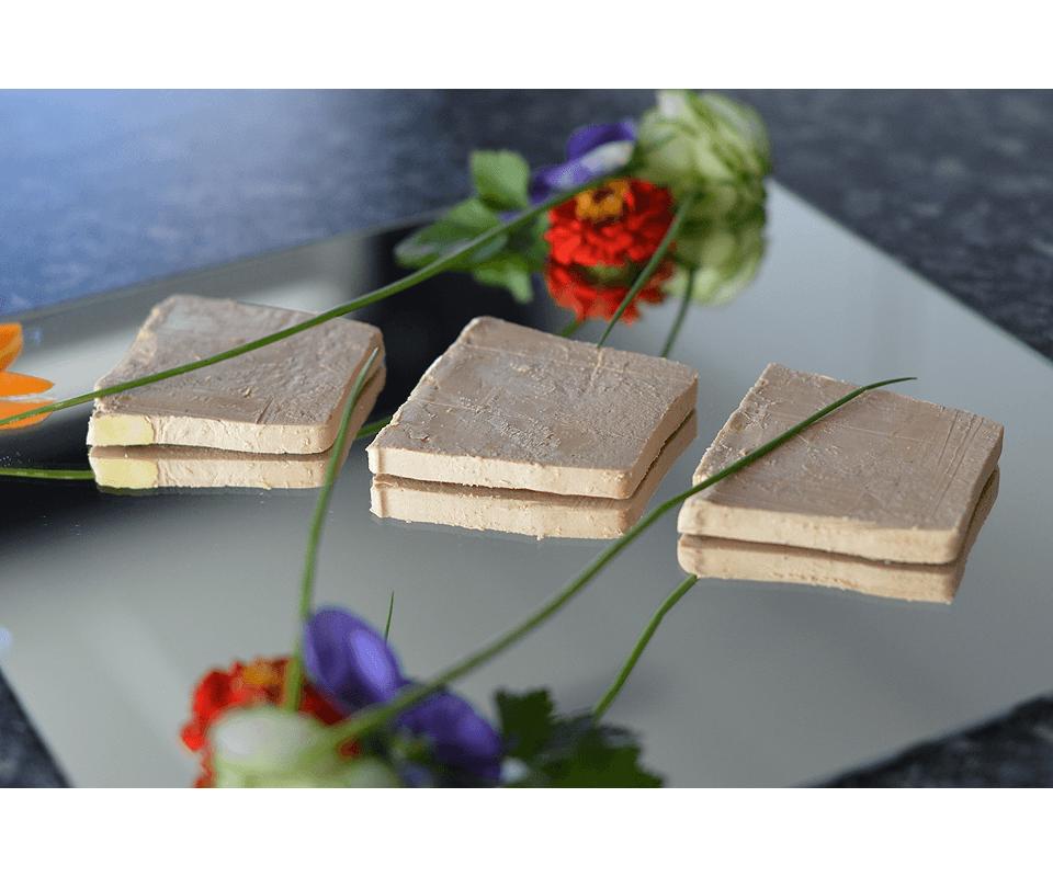 Achat en ligne bloc foie gras de canard 30 morceaux mi cuit for Achat vegetaux en ligne