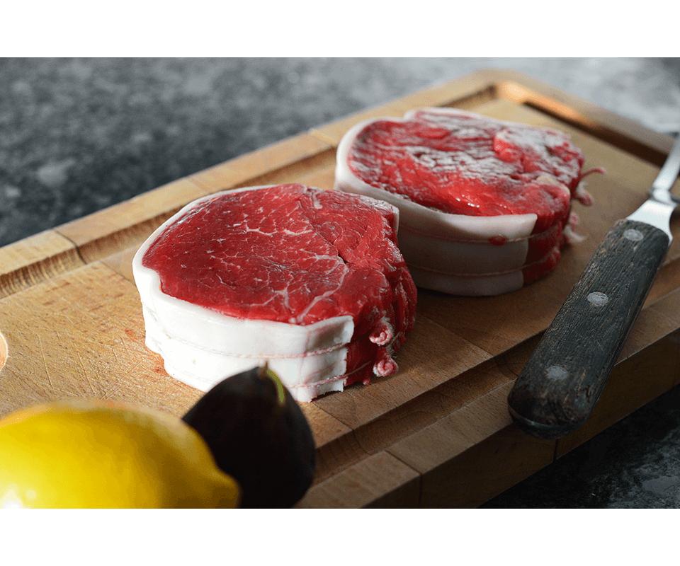 Achat en ligne tournedos filet de boeuf normandie viande - Cuisiner tournedos de boeuf ...