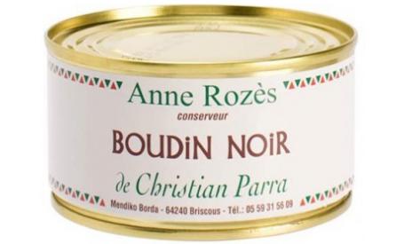 BOUDIN NOIR CHRISTIAN PARRA