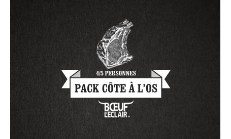 """PACK CÔTE À L'OS """"BOEUF DE NORMANDIE"""""""