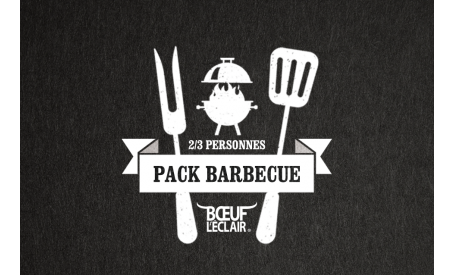PACK BARBECUE 2/3 PERSONNES