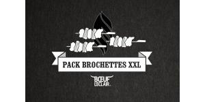 PACK 6 BROCHETTES 200G XXL