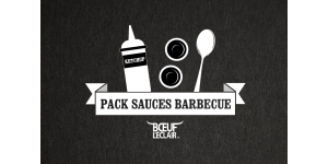 PACK 3 SAUCES AMERICAINES SPECIAL BARBECUE