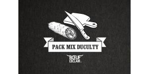 PACK MIX 3 SAUCISSONS DUCULTY