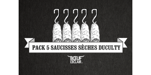 PACK 5 SAUCISSES SECHES DUCULTY