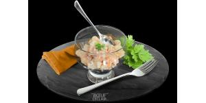 Salade Duo d'Ananas et Carottes au Surimi