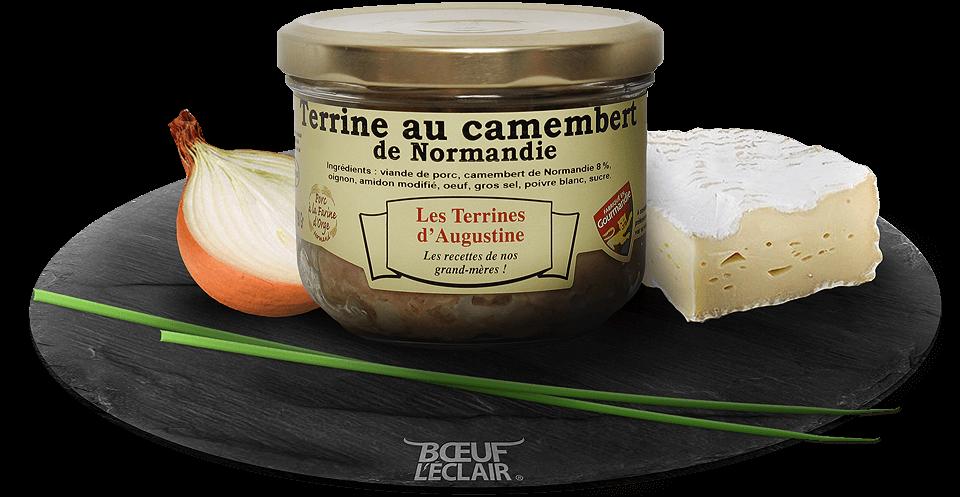 terrine au camembert normandie viande heritage