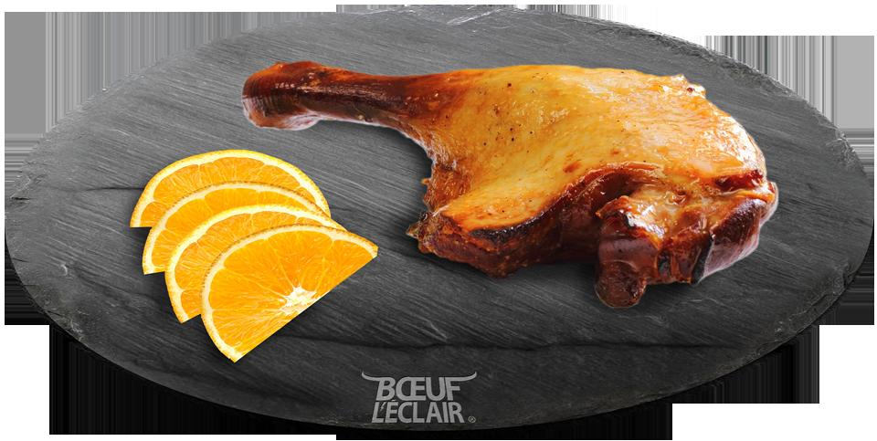 cuisse de canard confite boeuf l eclair