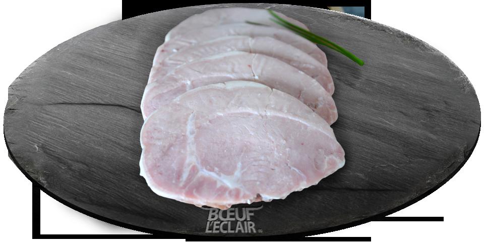 roti de porc cuit farine d'orge normandie viande heritage