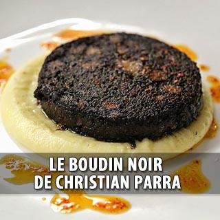 Le Boudin Noir de Christian Parra, l'anthologie s'invite chez Boeuf l'Eclair !