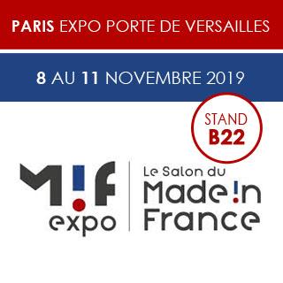 Retrouvez-nous au salon Made In France du 8 au 11 Novembre 2019 et venez découvrir notre nouvelle gamme de plats cuisinés Made in Normandie !