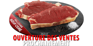 FAUX FILET DE BOEUF CIDRÉ X2