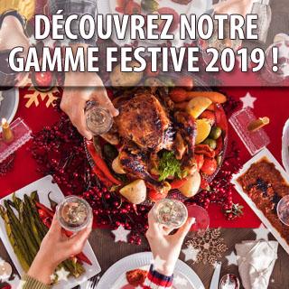 Découvrez notre gamme festive 2019 !
